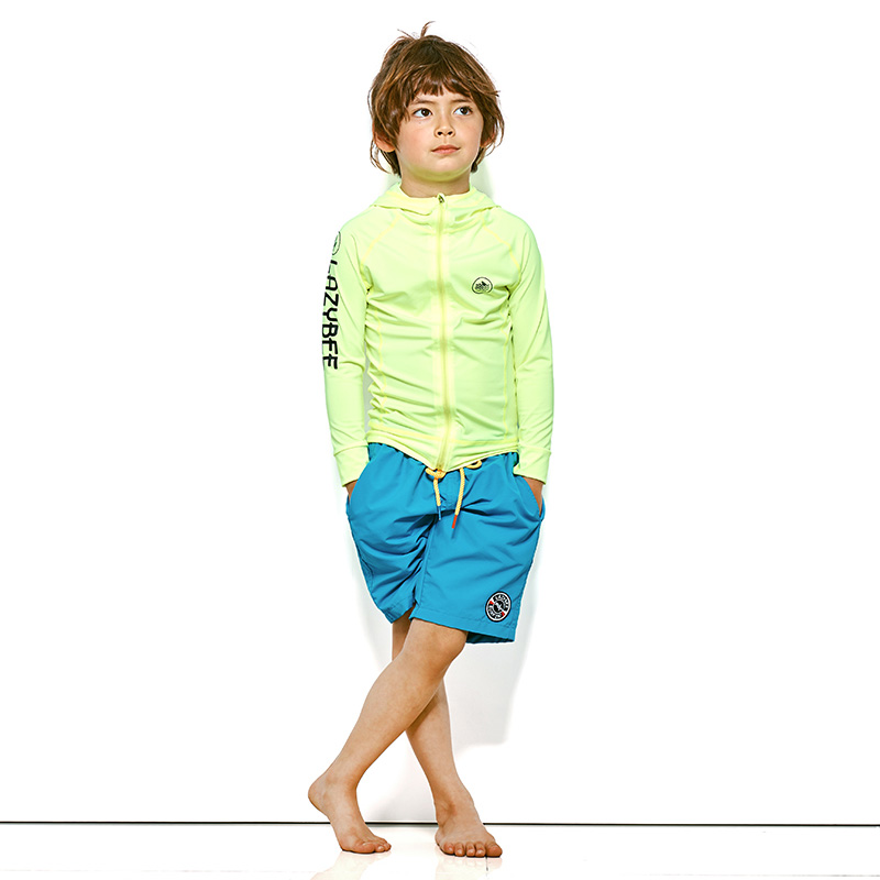 [LAZYBEE] OXO kids boy Swim Pants - A.Blue  레이지비 아동용 비치바지